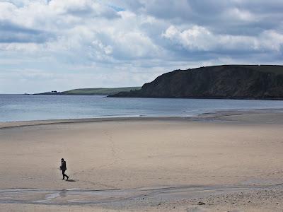 Pentewan Beach Cornwall