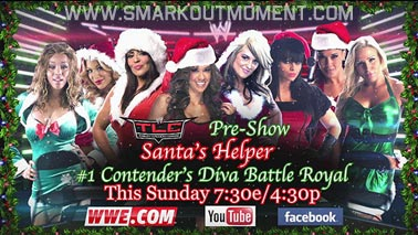 YouTube Pre-Show Divas Battle Royal #1 Contender's Match: Aksana vs