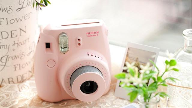 instax mini 8 fujifilm polaroid camara