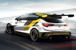 Opel Astra TCR 2016 (Rendering) Rear Side