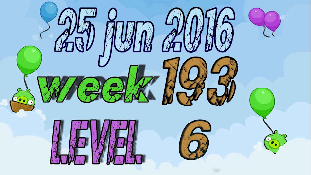 Angry Birds Friends Tournament level 6 Week 193