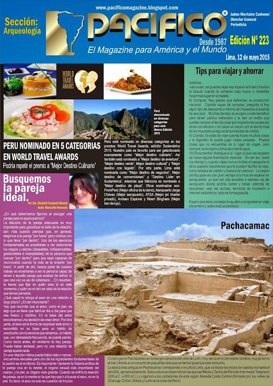 Revista Pacífico Nº 223  Arqueología