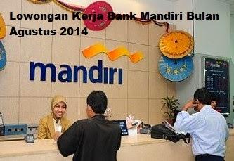 Lowongan kerja Bank 2014