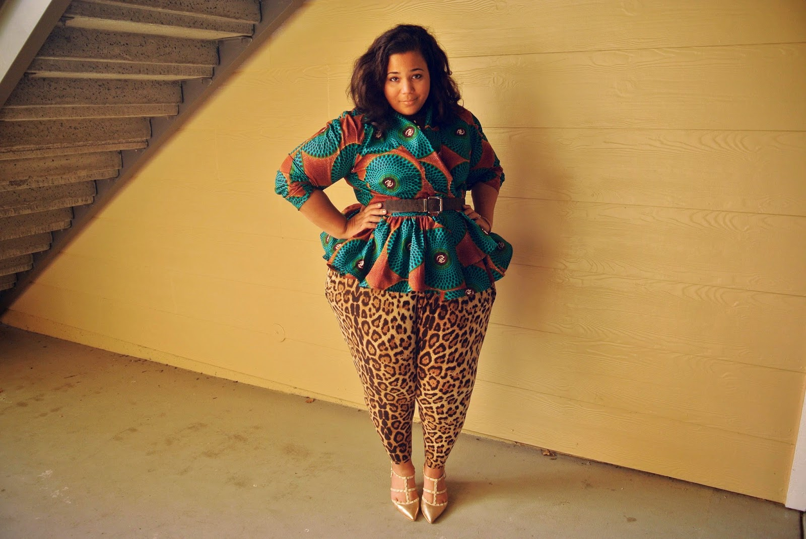 Ethnic chic, african prints, Demestiks, plus size ethnic print