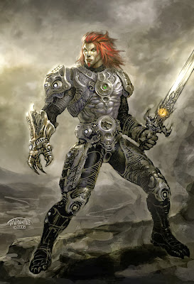 Armored Lion-O Alternative Art