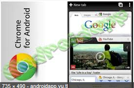 Google Chrome Latest Version:Veresion With Device for Android Free Download