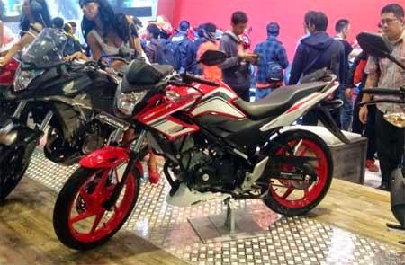 Honda CB150R special Edition Merah & hitam