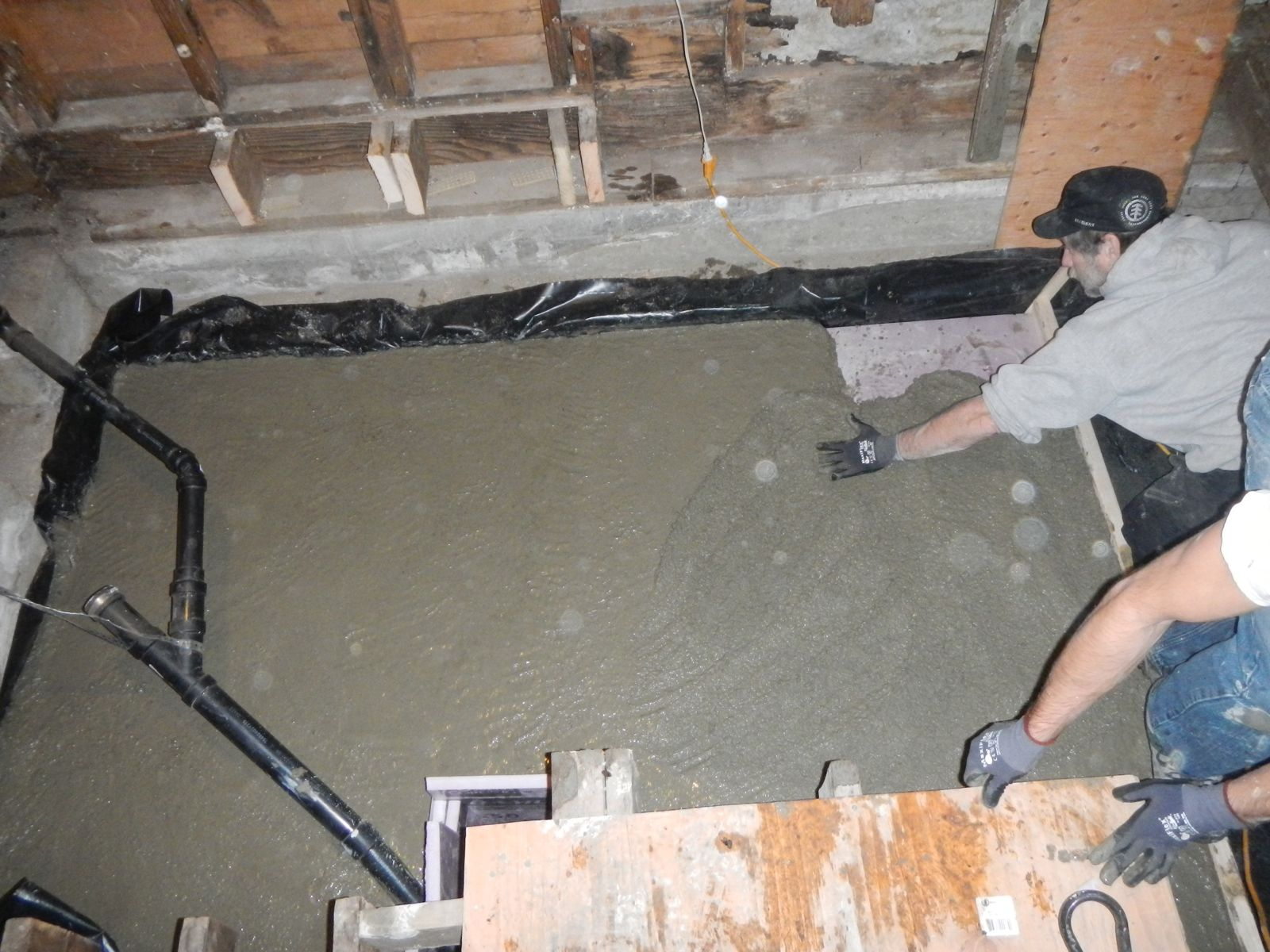 Crawl Space Rat Slab This Old Folly