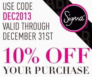 Sigma Beauty Discount code