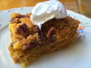 Crunchy Pumpkin Dessert