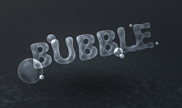 bubble-text-effect