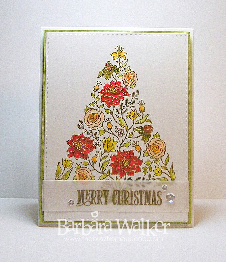 The buzz december 2015 i will point out the differences as i break down the construction of each card first up is botanical tree on green click on the images to enlarge them kristyandbryce Choice Image
