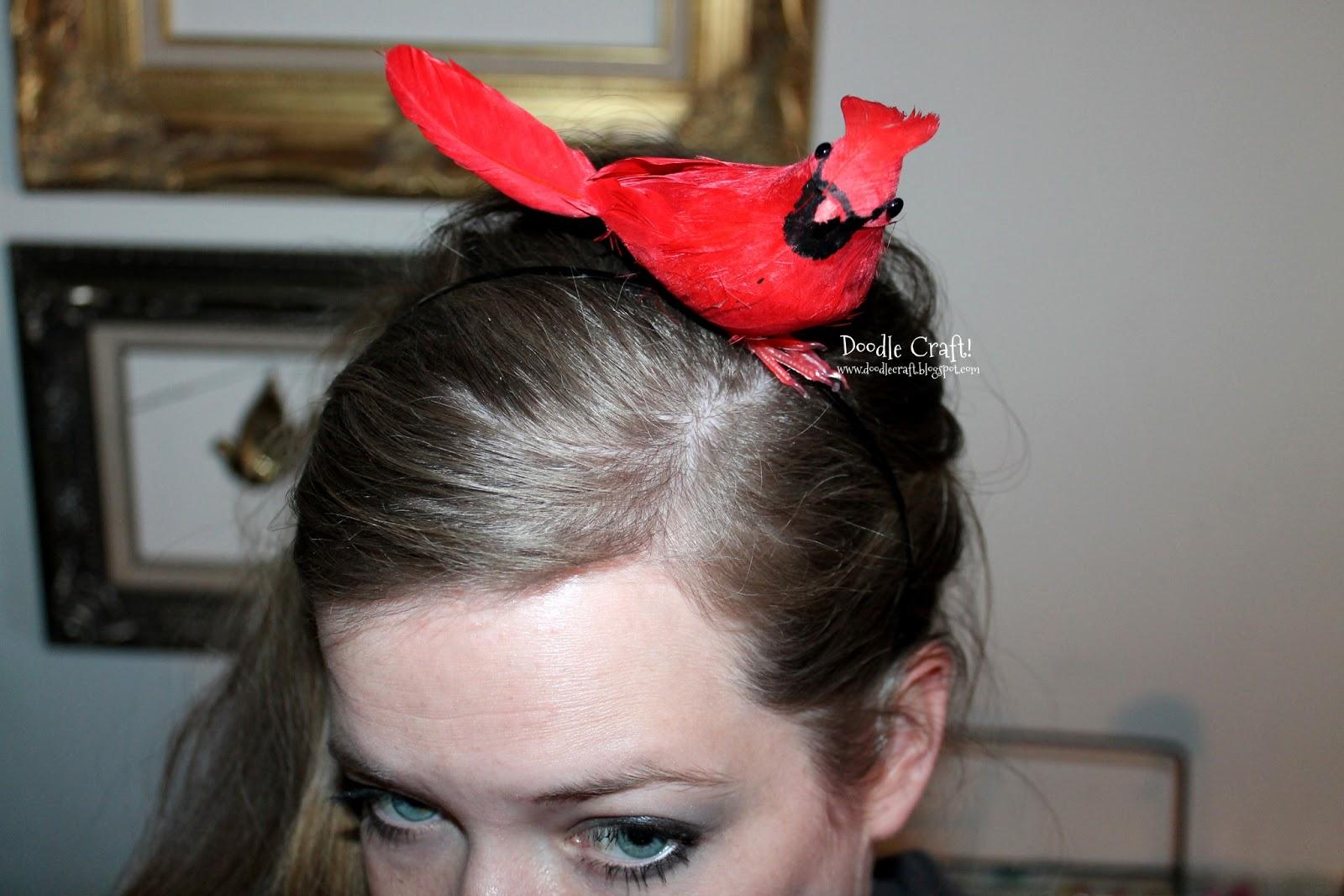Doodlecraft Crazy Bird Lady Headbands