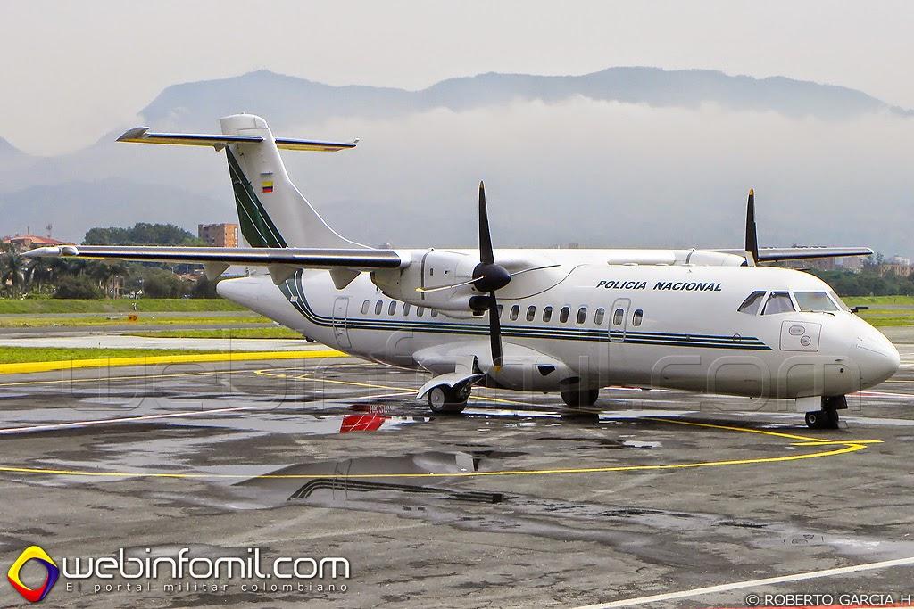 Policia Colombia ATR-42 PNC-0241