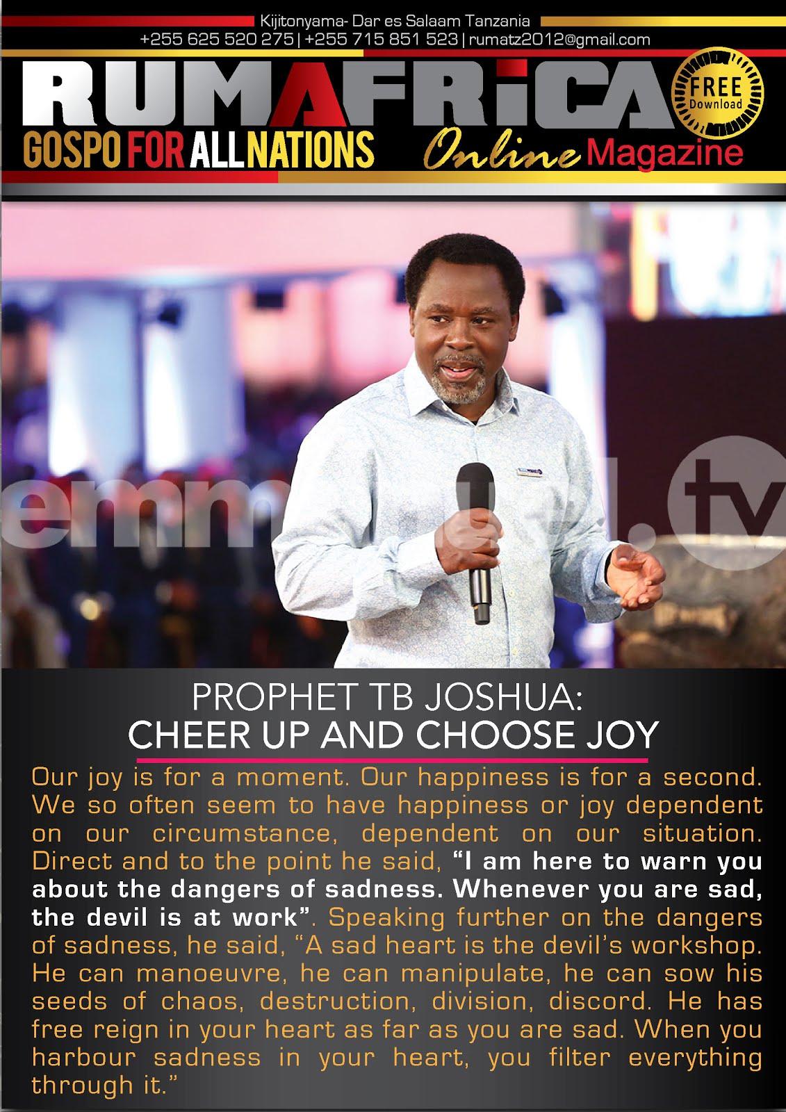 PROPHET TB JOSHUA.