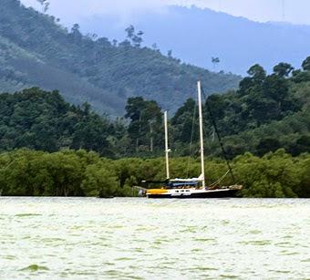 cruising to myanmar
