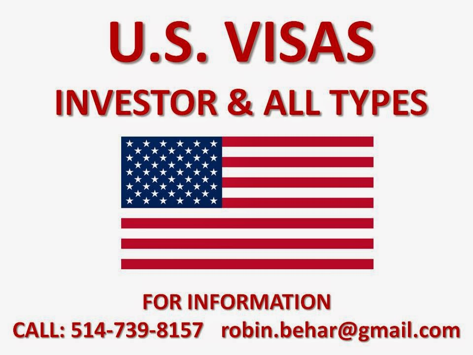 U.S. VISAS FOR BUSINESS