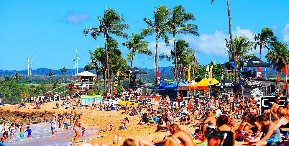 Hawaiian Pro triple corona