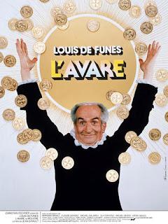Louis DE FUNES dans L'Avare