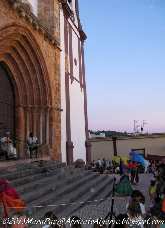Silves Cathedral steps