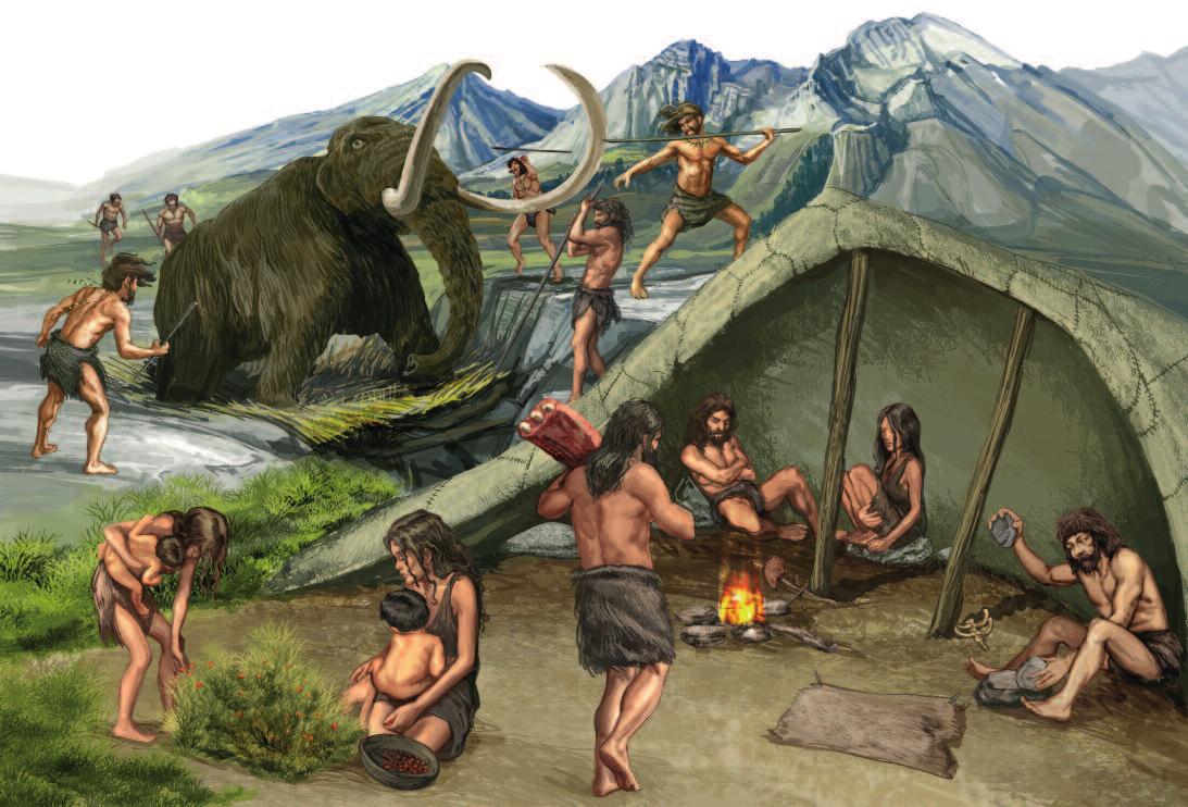 Historia Modernell: Paleolítico