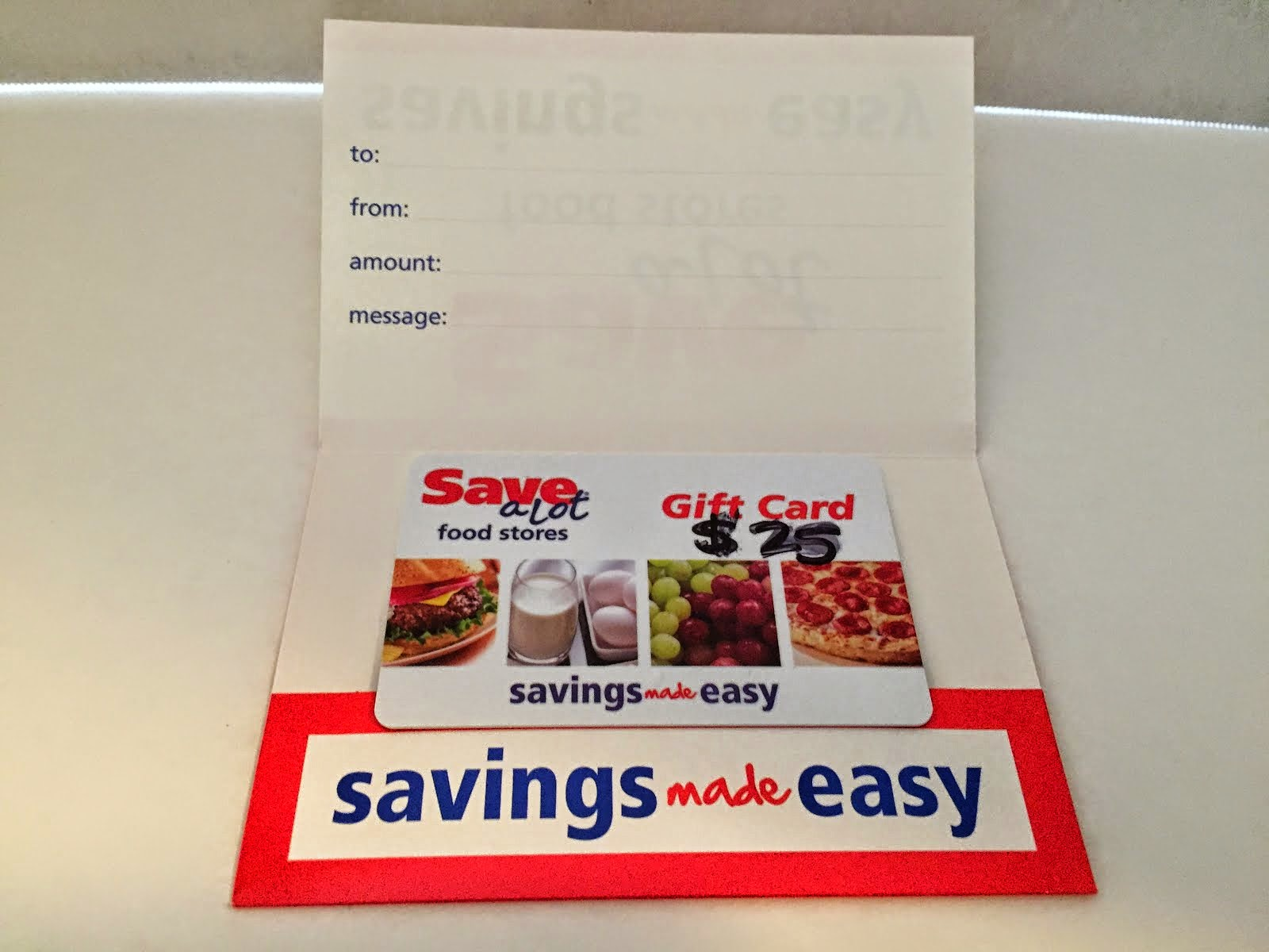 Giveaway: $25 Save-A-Lot gift card