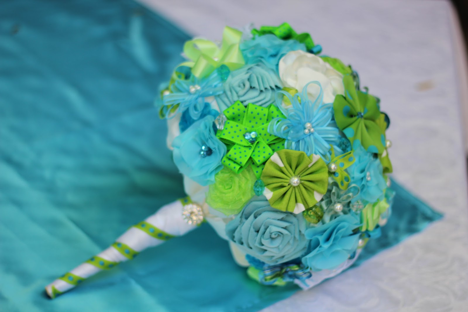 Generous fabric flower bouquet tutorial images wedding and flowers great fabric flower bouquet tutorial images wedding and flowers izmirmasajfo Image collections