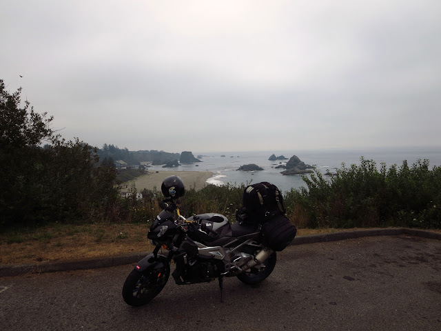 Aprilia Tuono Oregon Coast