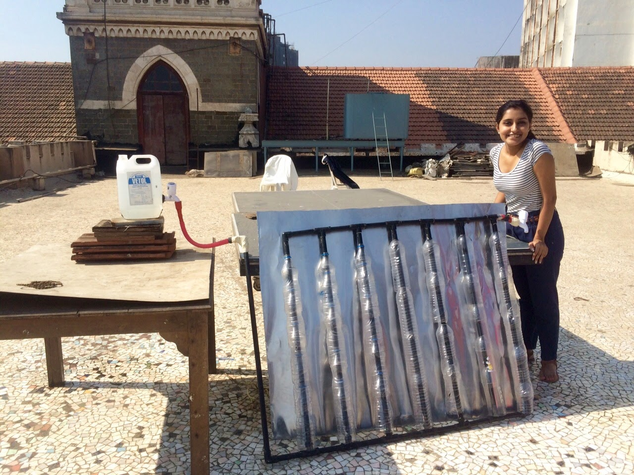 Cost of a water heater - A Low Cost Solar Water Heater