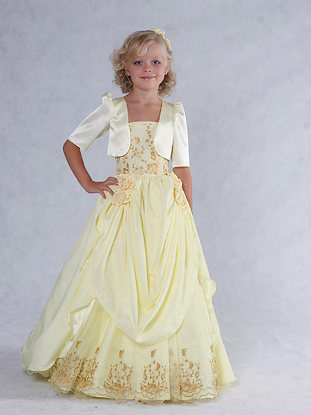 Young Flower Girl Dresses 49