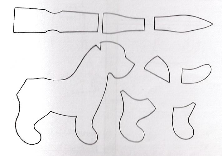 Moldes de peluche hipopotamo gratis - Imagui