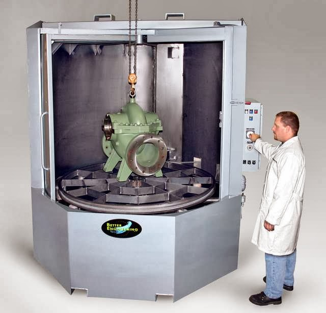 Industrial Cabinet Washers ~ Parts cleaning news from better engineering mfg inc