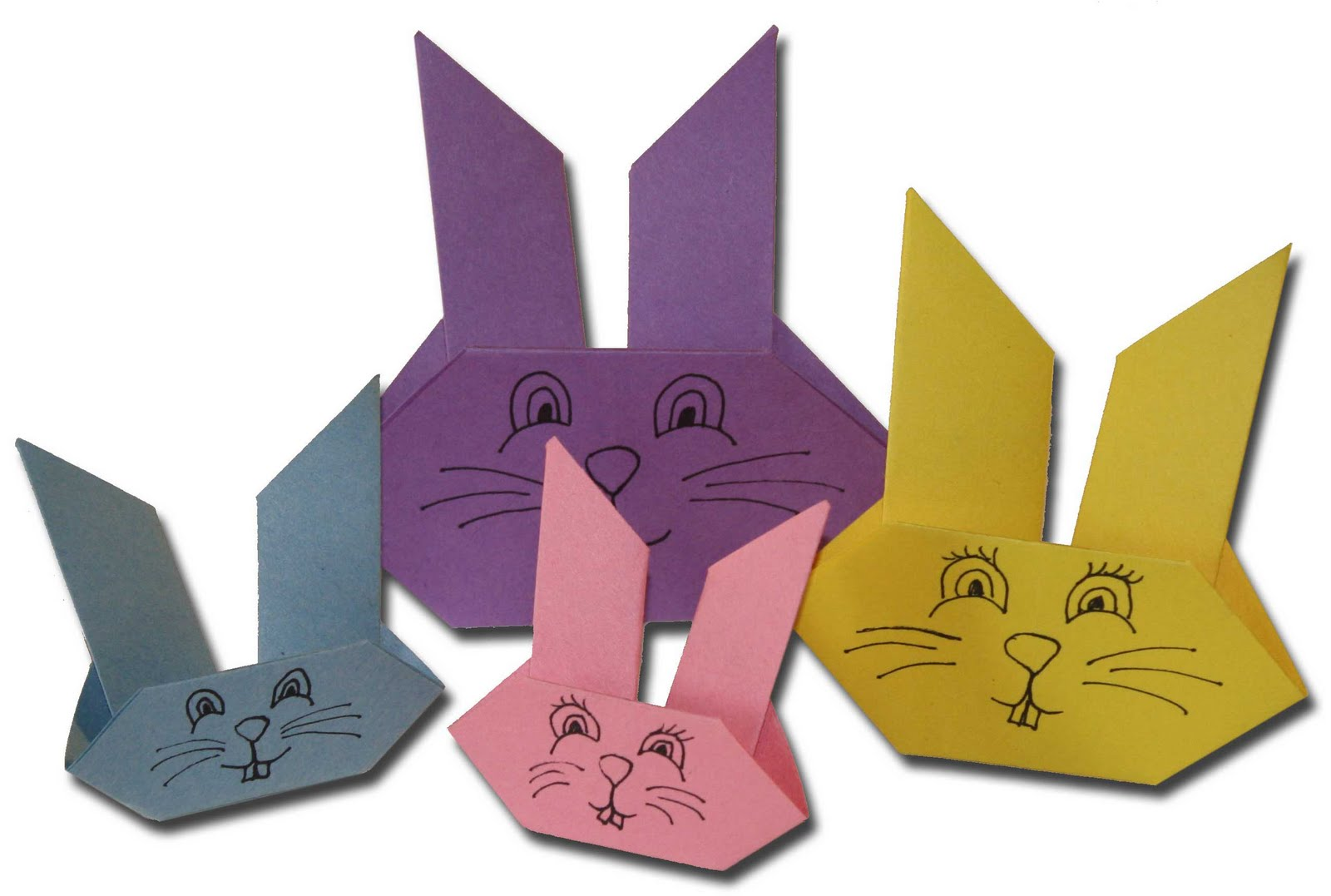 Как сделать пасхальное зайца из бумаги