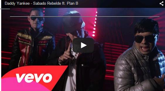 Daddy Yankee - Sabado Rebelde ft. Plan video y  letra