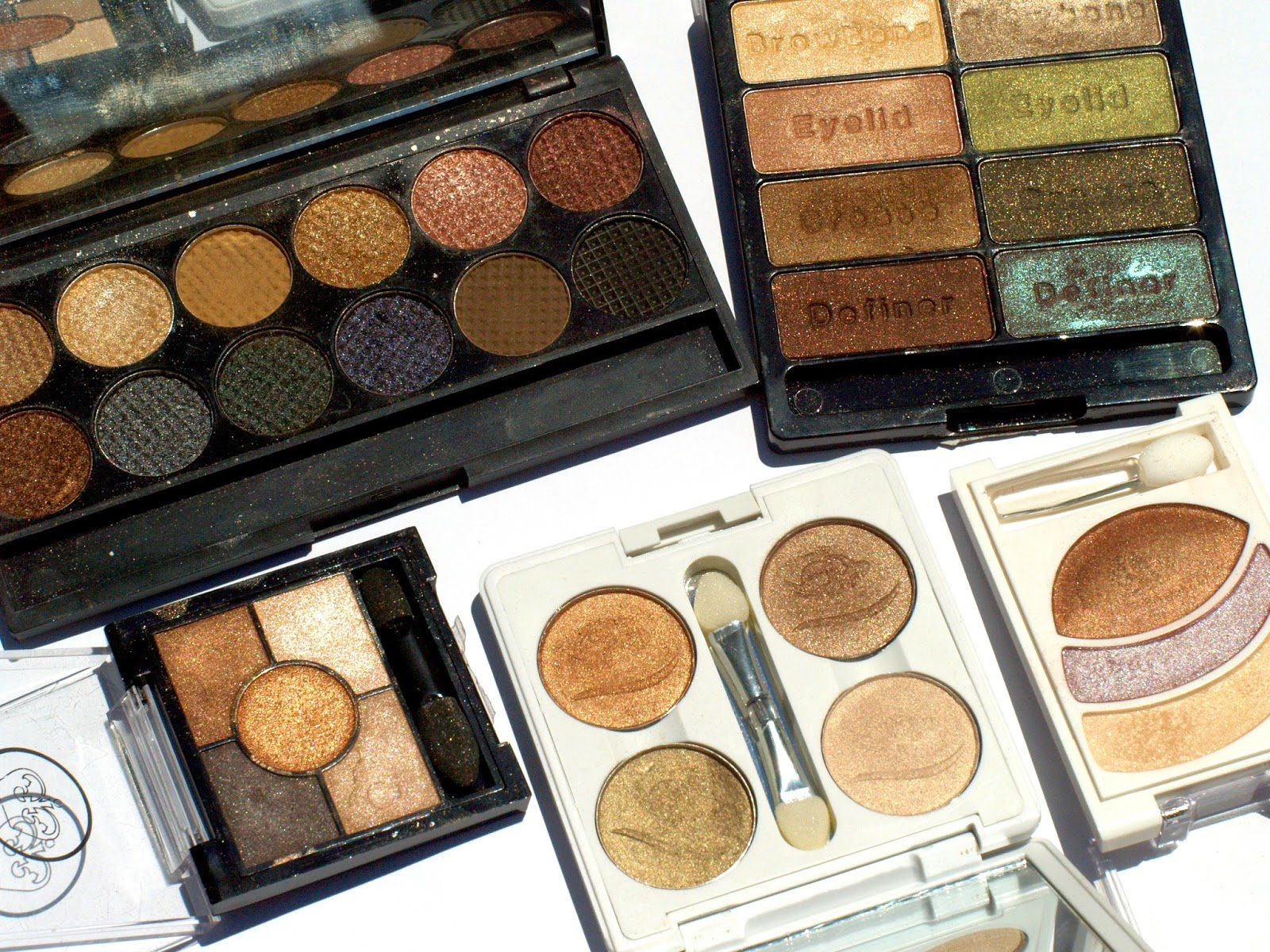Top 5 Drugstore Eyeshadow Palettes