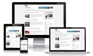 Blogger Template : Super SEO Responsive Download Gratis