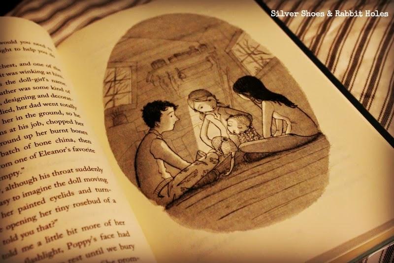 Una delle illustrazioni dell'edizione originale di Doll bones