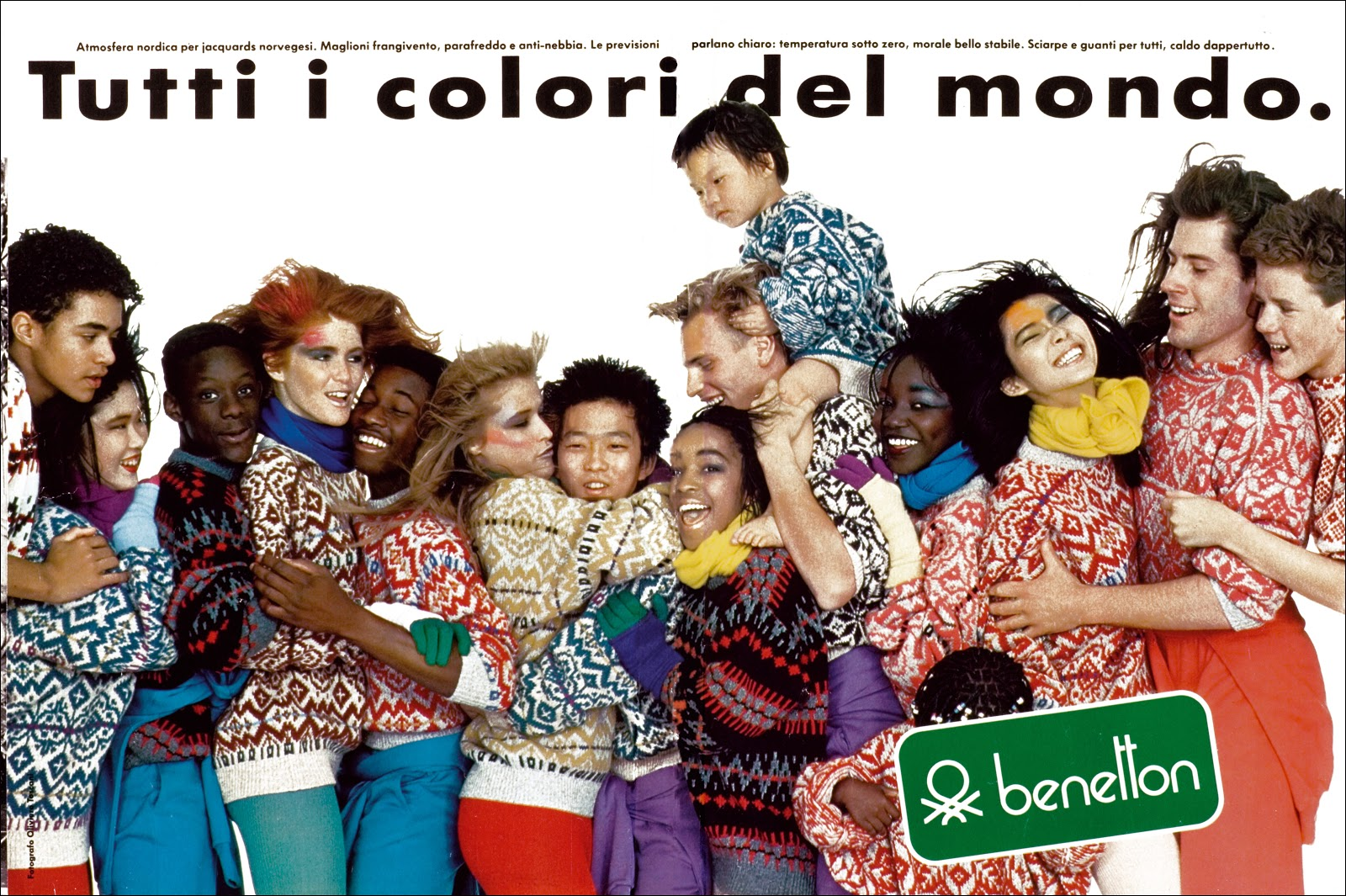 wonders of the history of graphic design visual documentation of the united colors of benetton. Black Bedroom Furniture Sets. Home Design Ideas