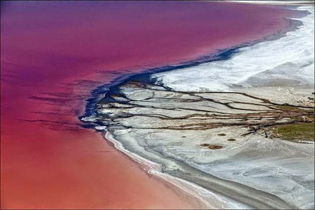Salt lake Elton, Volgograd region