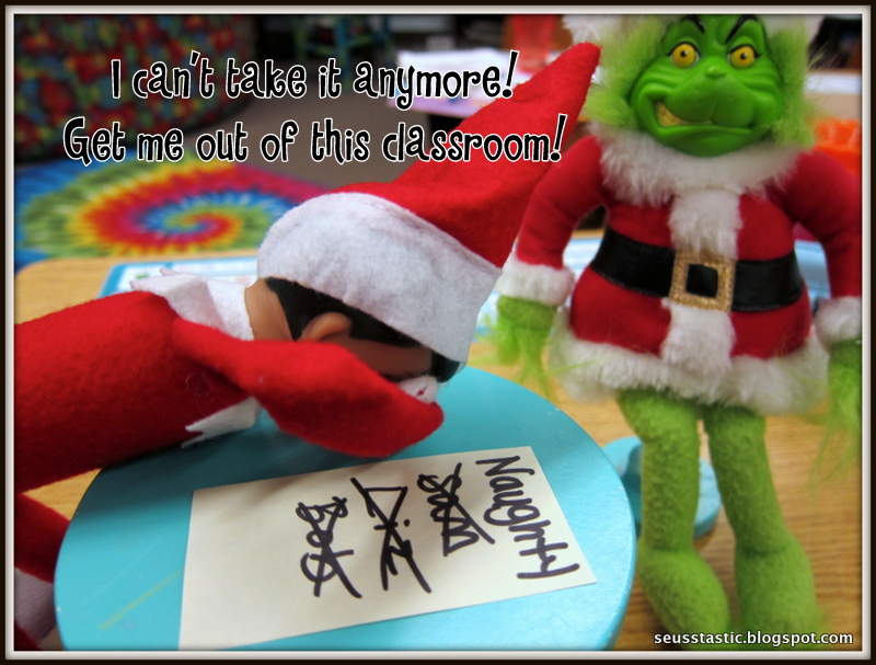 Classroom Elf Ideas ~ Seusstastic classroom inspirations elf on the shelf