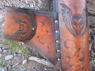 Leather Hip Quiver