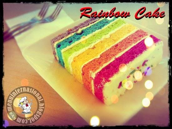 Cara Membuat Rainbow Cake Enak dan Cantik