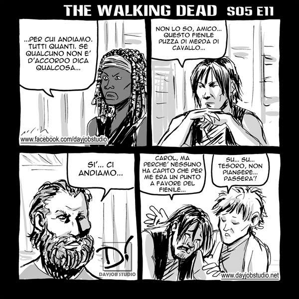 The Walking Dead - 5x11 - La distanza (Dayjob Studio)