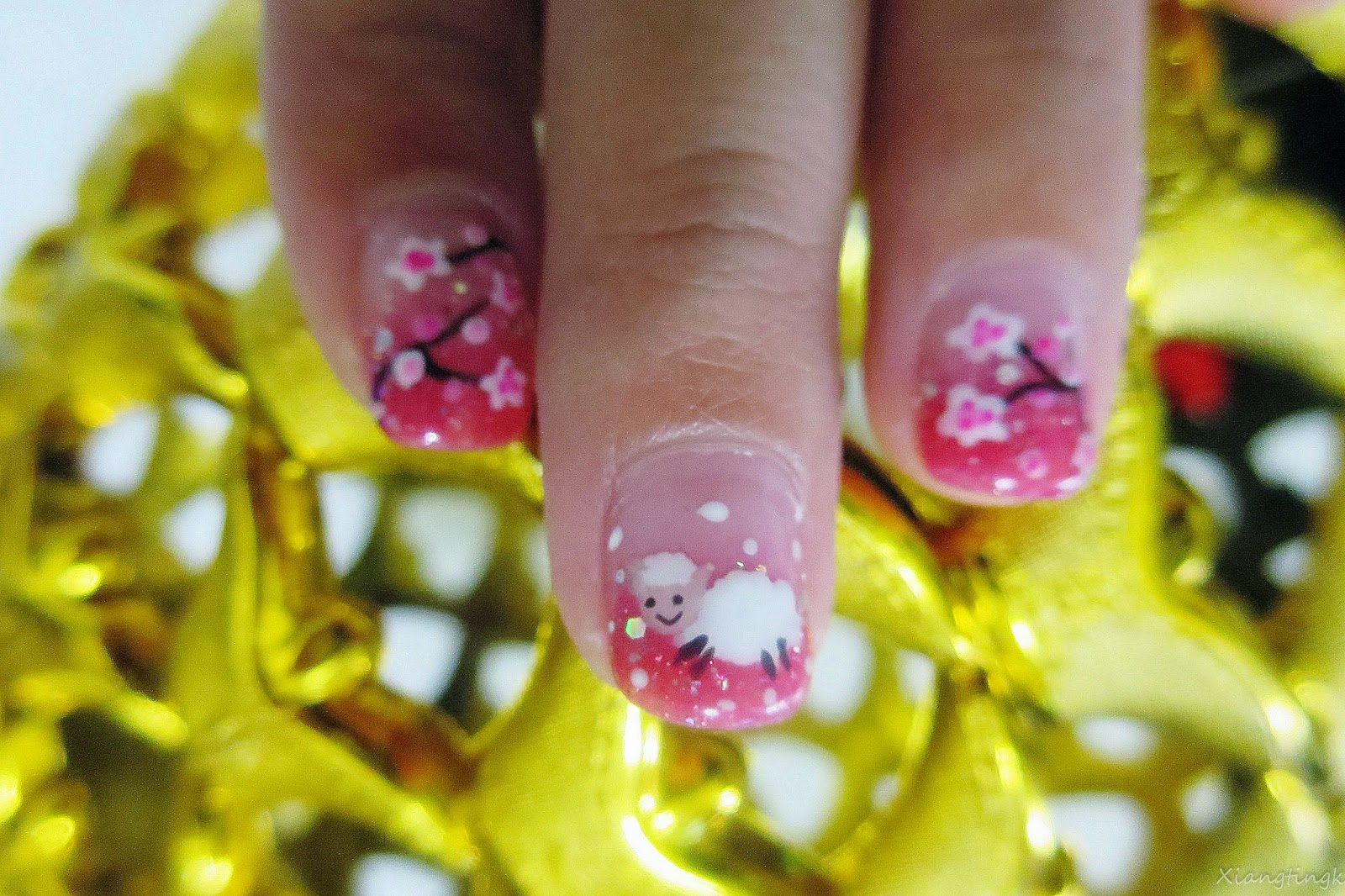 Atastic Manicures - Chinese New Year Theme | www.xiangtingk.com