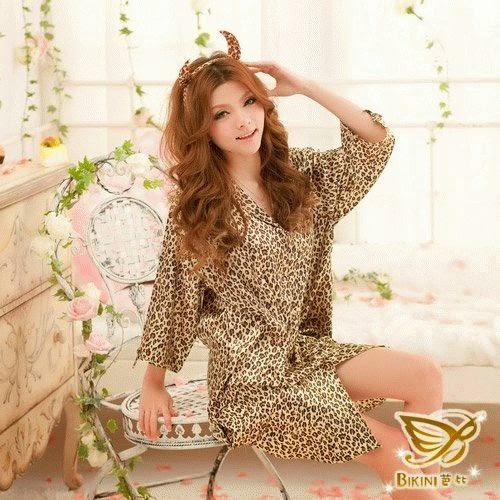 Baju Tidur Terusan macan