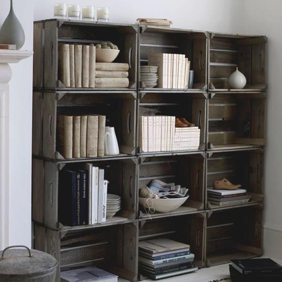 libreria de cajas