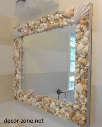 Bathroom Mirror Decor Ideas Decorating Mirror Frames Modern Magazin Mirror  Frame Decorating   How To Decorate