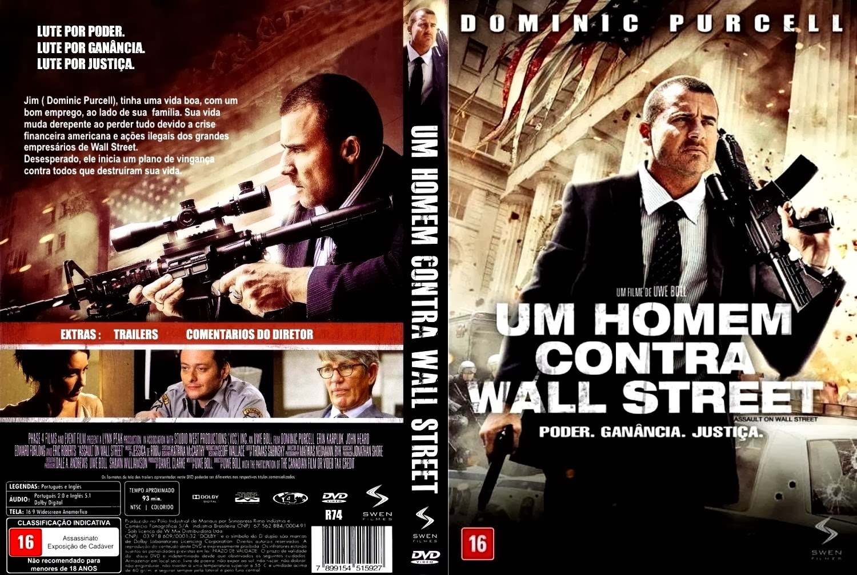 Um Homem Contra Wall Street BDRip XviD Dual Áudio