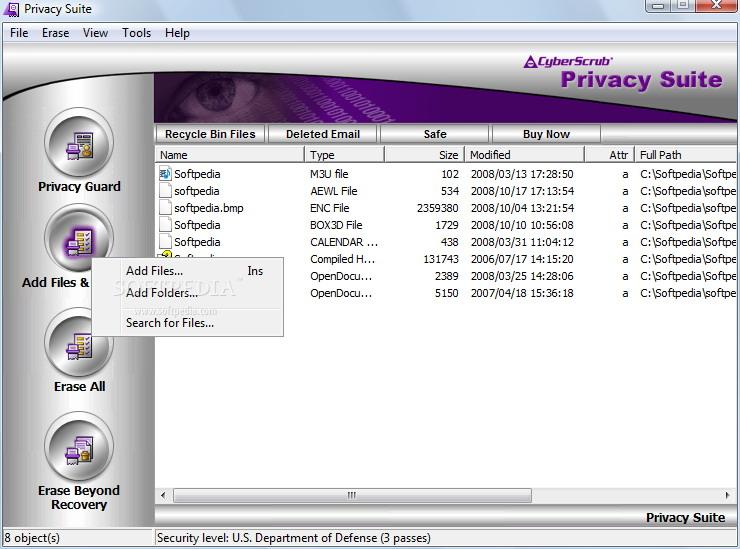 ������ CyberScrub Privacy Suite 5.1.1.104 ������ ���� ����� 500%