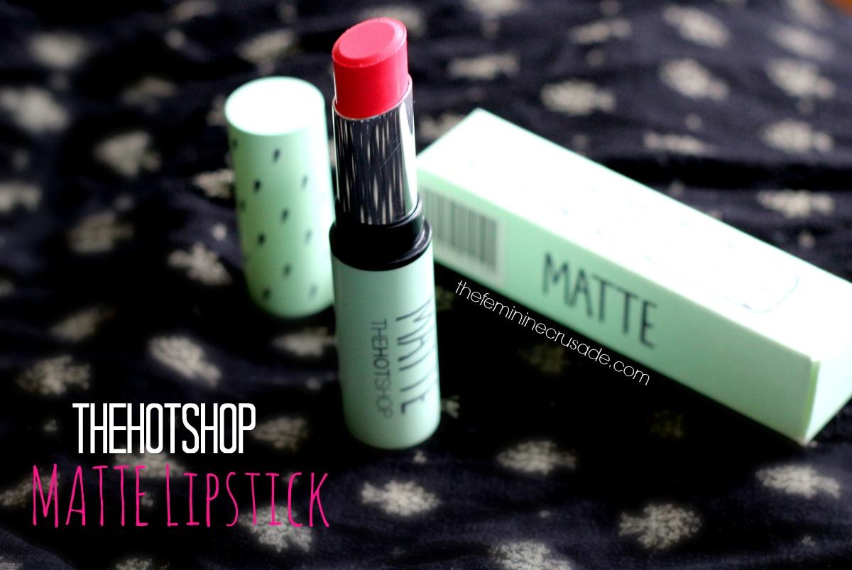 Thehotshop Velvet Matte Lipstick in #2